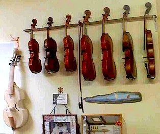 Atelier de François Nérot luthier à Maisons-Alfort